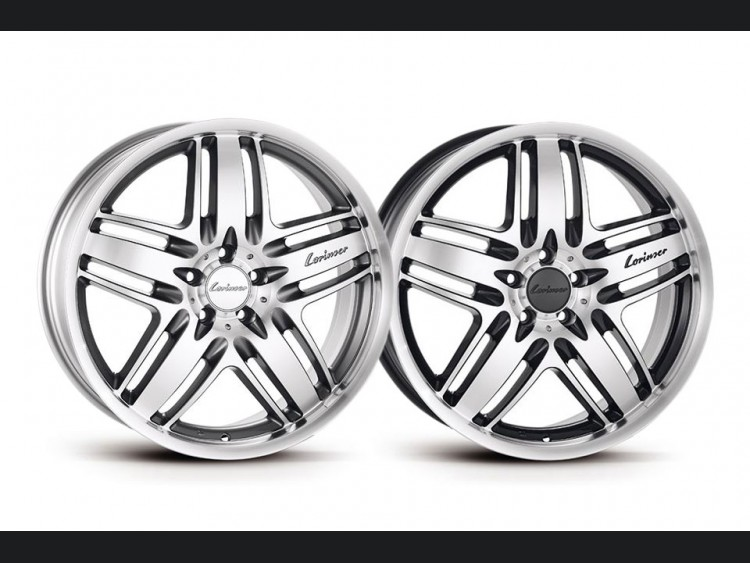 Mercedes Benz Custom Wheels - C-Class RS9 1-piece Light Alloy Wheels - by Lorinser