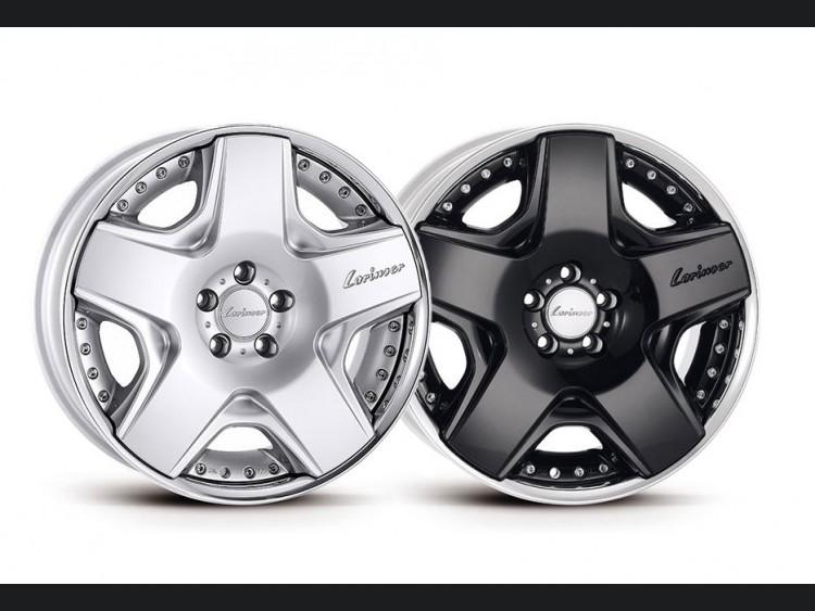 Mercedes Benz Custom Wheels - C-Class RSK6 3-piece Light Alloy Wheels - by Lorinser