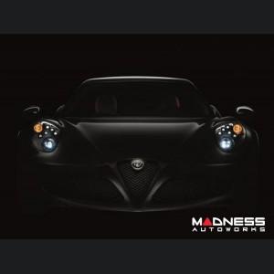 Alfa Romeo 4C Carbon Fiber Headlight Frames - Bi-LED Variant