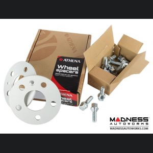 Alfa Romeo 4C Wheel Spacers by Athena - 12mm (set of 2 w/ extended bolts)