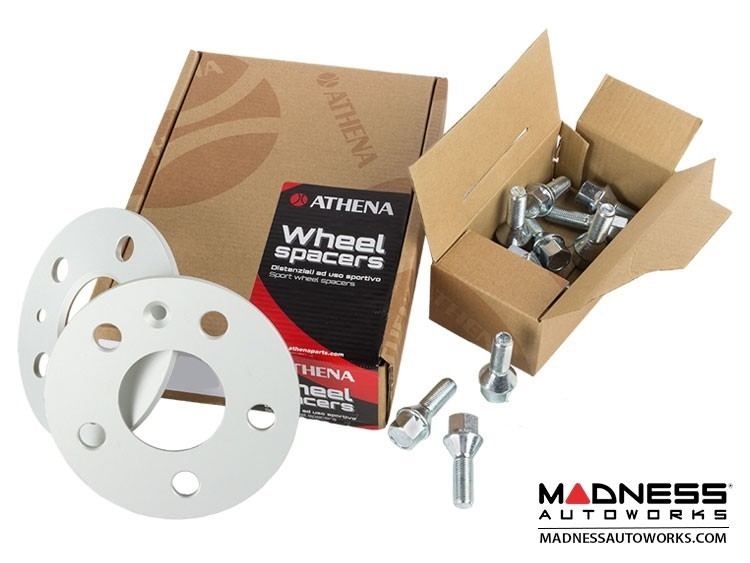 Alfa Romeo 4C Wheel Spacers - Athena - 12mm (set of 2 w/ extended bolts)