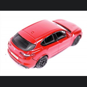 Alfa Romeo Stelvio Die Cast Model - 1:43 Scale - Red - Streets of Fire Series