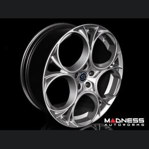 "Alfa Romeo Stelvio Custom Wheels - Scuderia - 20"" - Satin Anthracite Finish - set of 4"