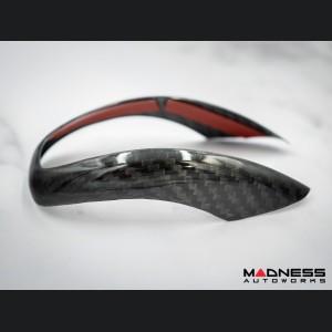 Alfa Romeo Giulia Carbon Fiber Gear Knob Trim - Pre '20 models - Feroce Carbon