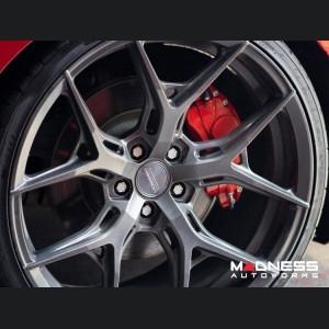 Alfa Romeo Stelvio Brake Caliper Cover Kit - Set of 4 - Red