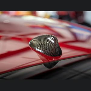 Alfa Romeo Stelvio Antenna Cover - Carbon Fiber - Feroce Carbon