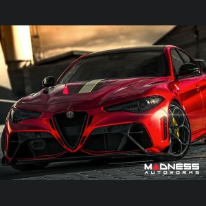Alfa Romeo Giulia Hood - Carbon Fiber - Extreme Style