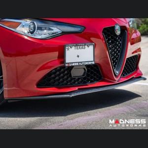 Alfa Romeo Giulia License Plate Mount - Adjustable