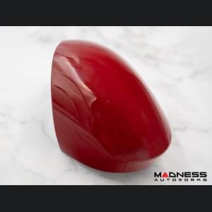 Alfa Romeo Giulia Mirror Covers - Genuine Alfa Romeo - Take Off - Red