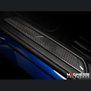Alfa Romeo Giulia Door Sill Trim - Carbon Fiber - Feroce Carbon