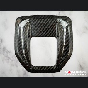 Alfa Romeo Stelvio Shift Gate Panel - Automatic - Carbon Fiber - Pre '20 models - Feroce Carbon