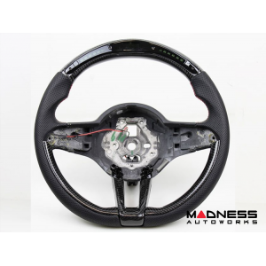 Alfa Romeo Stelvio Steering Wheel - QV Model - Carbon Fiber w/ LED Functions