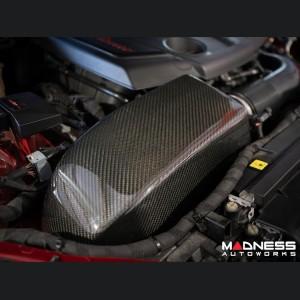 Alfa Romeo Giulia Cold Air Intake - MAXFlow Carbon Fiber Intake System w/ BMC Twin Air Conical Filter