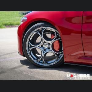 "Alfa Romeo Giulia Custom Wheels - Scuderia - 19"" - Satin Anthracite Finish - set of 4"