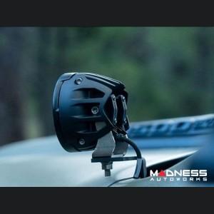 Dodge Ram 1500 A-Pillar LED Light Mounts - RIGID