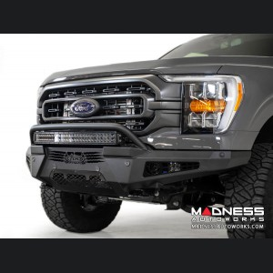 Ford F-150 Honeybadger Front Bumper w/ Top Hoop by ADD
