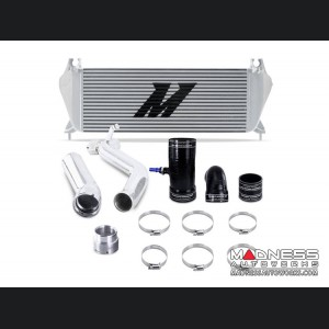 Ford Ranger 2.3L EcoBoost Performance Intercooler Kit by Mishimoto - Silver - Polished Pipes