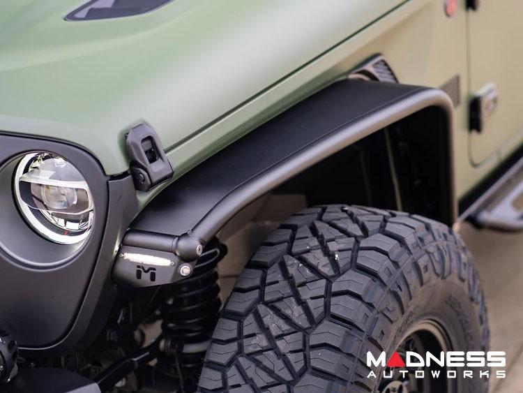 Jeep Wrangler JL Overland Tube Fenders - Front