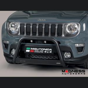 Jeep Renegade Front Bumper Guard - Misutonida - Medium - Sport/ Lattitude/ Limited - 2018+ Models - Black