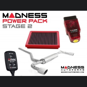 Jeep Renegade 2.4L MADNESS Power Pack - Stage 2 - Dual Exhaust Tips