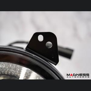 "Jeep Gladiator Headlights - LED w/ Halos - Black Housing - 9"""