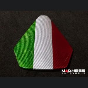 Lamborghini Huracan - Carbon Fiber Instrument Cover - LP 610-4 - Spyder - Italian Flag Design