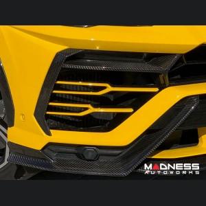 Lamborghini Urus - Front Bumper Vent Trim - Carbon Fiber