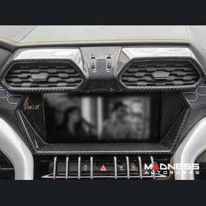 Lamborghini Urus - Radio Frame Trim - Carbon Fiber
