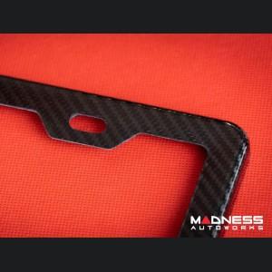 License Plate Frame - 100% Genuine Carbon Fiber (2)