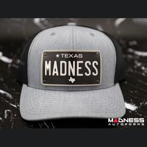 Cap - Trucker Style - w/ Texas Black Plate + MADNESS