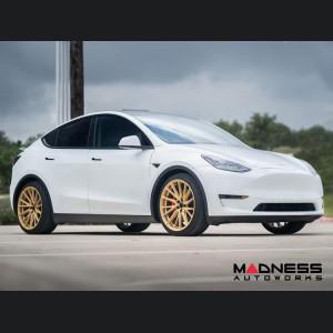 Tesla Model Y Custom Wheels - HF4T by Vossen