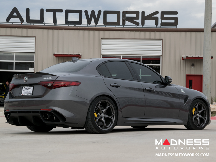 Alfa Romeo Giulia Lowering Springs by MADNESS - Quadrifoglio Model (QV)
