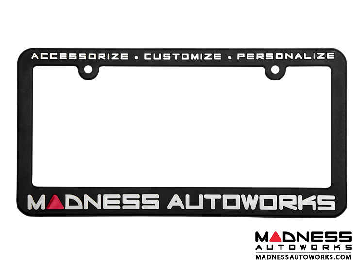MADNESS Autoworks License Plate Frame (x2)