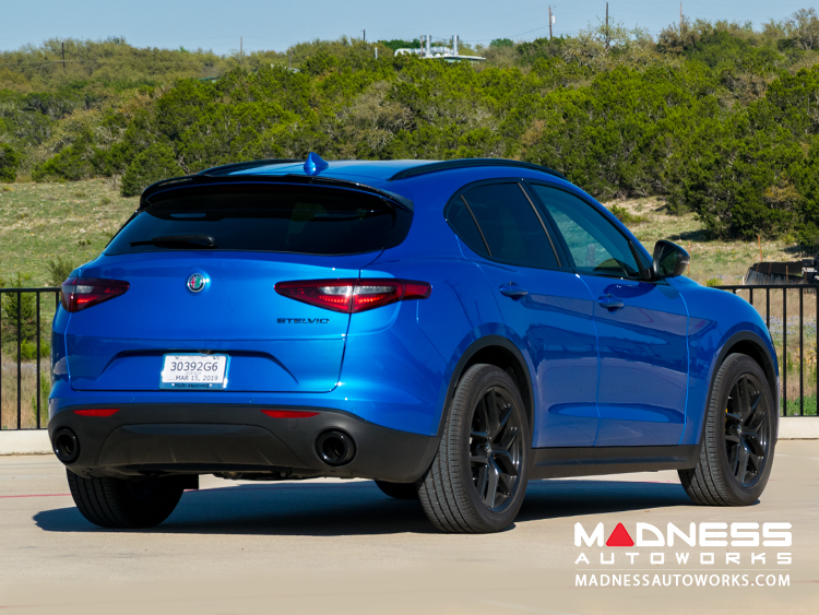Alfa Romeo Stelvio Lowering Springs by MADNESS - Sport