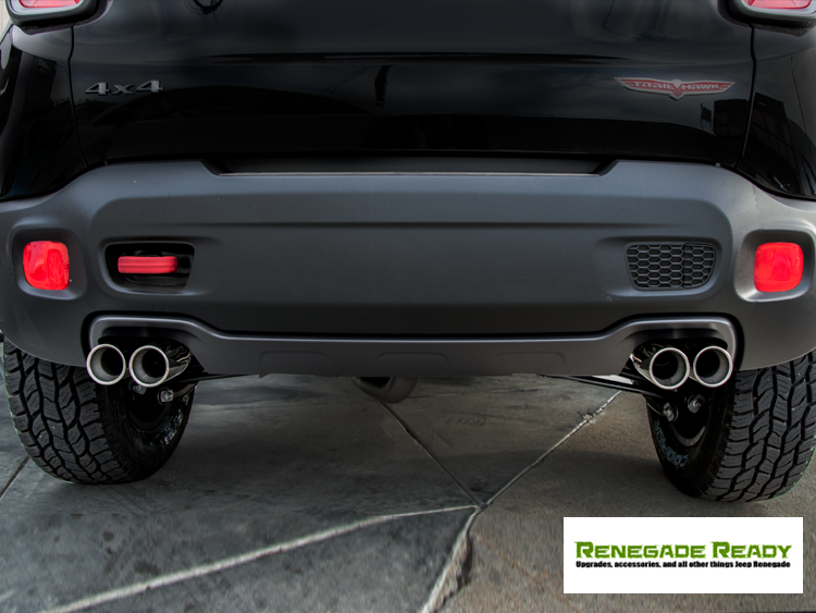 Jeep Renegade Performance Exhaust By Ragazzon Jeep