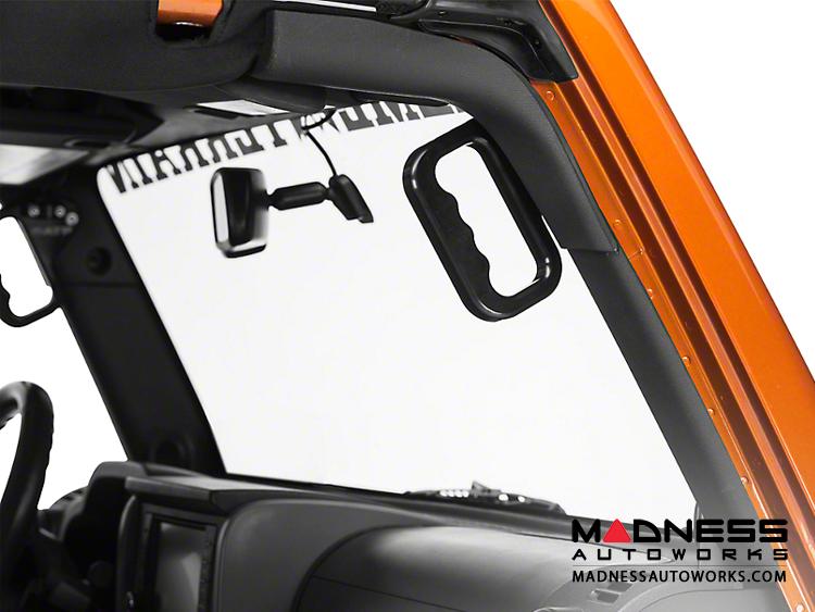 Jeep Wrangler JK Front Grab Handles by ATP