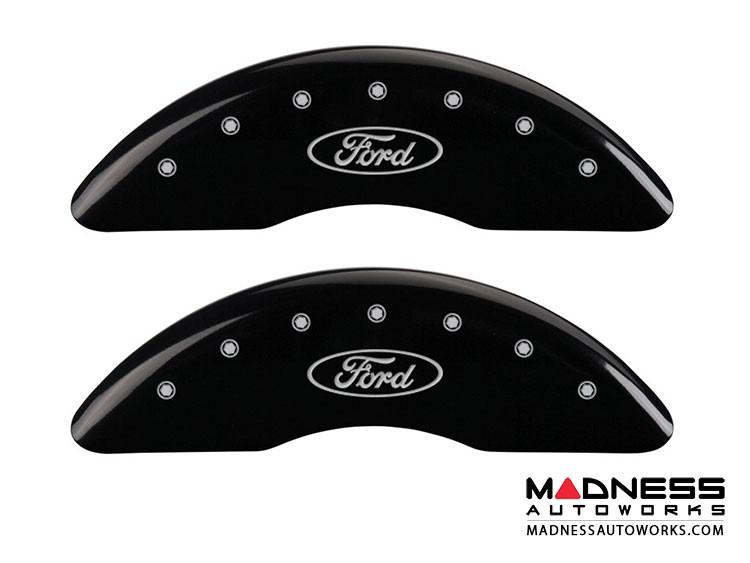 Ford F-350 Super Duty 2014 - Ford Logo - Caliper Covers by MGP - Black