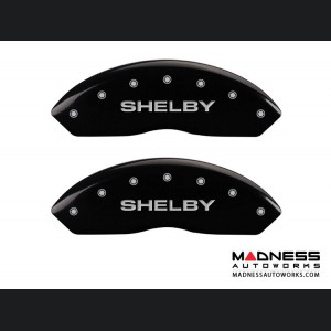 Ford Mustang 2011-2014 - Shelby Logo - Caliper Covers by MGP - Black