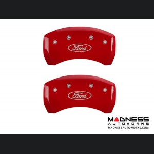 Ford Mustang 2011-2014 - Caliper Covers by MGP - Red