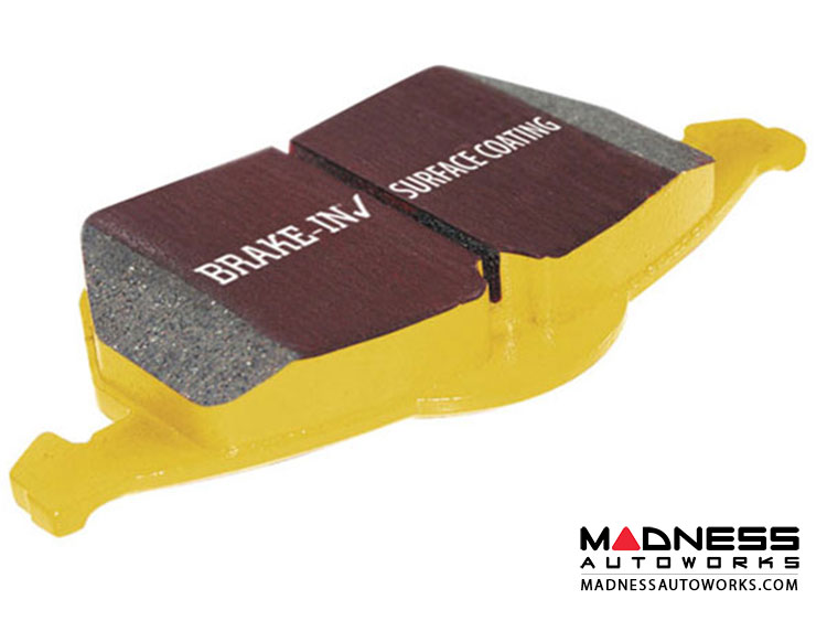 Aston Martin DB7 Brake Pads by EBC - Rear - Yellow Stuff