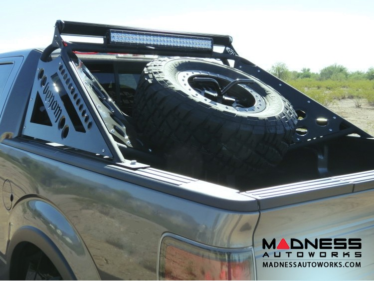 Ford Raptor and F-Series Venom Chase Rack w/ Tire Carrier by Addictive Desert Designs