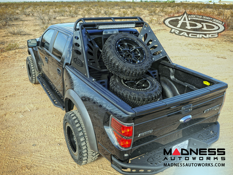 Ford Raptor and F-Series Chase Rack Lite w/o Tire Carrier by Addictive Desert Designs