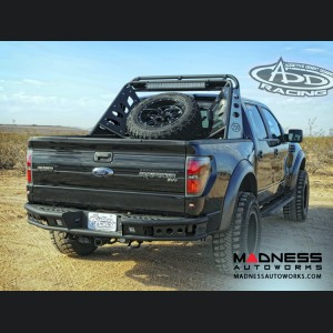 Ford Raptor and F-Series Chase Rack Lite w/ Tire Carrier by Addictive Desert Designs