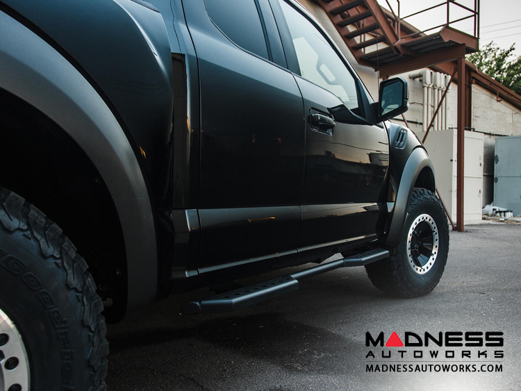 Ford F Series Stealth Side Steps by Addictive Desert Designs - Super Cab