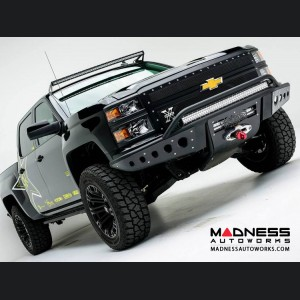 Chevrolet 1500 Stealth Front Winch Mount Bumper by Addictive Desert Designs - 2014-2015
