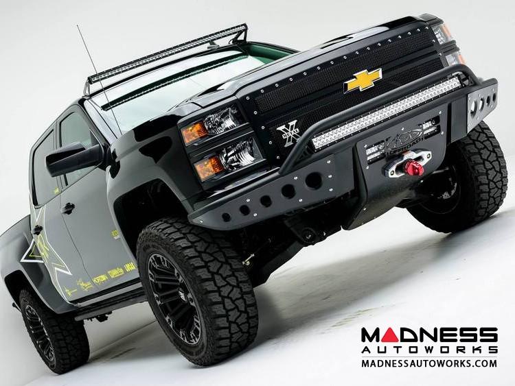 GMC Sierra 1500 Stealth Front Winch Mount Bumper by Addictive Desert Designs - 2014-2015