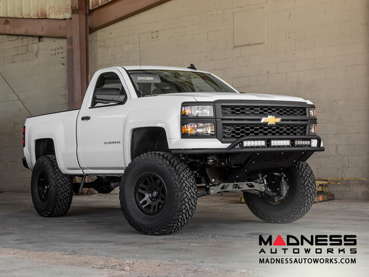 Chevrolet Silverado 1500 ADD Lite Front Bumper w/ Top Hoop by Addictive Desert Designs - 2014-2015