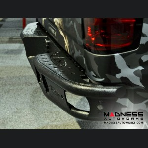 Chevrolet Silverado 1500 Dimple R Rear Bumper w/ Sensor Cut Outs by Addictive Desert Designs - 2014+
