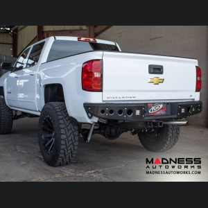 GMC Sierra 1500 Stealth Rear Bumper by Addictive Desert Designs - 2014-2016 - w/ Back Up Sensors