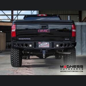 GMC Sierra 1500 Stealth Rear Bumper by Addictive Desert Designs - 2014-2016 - w/ Back Up Sensors
